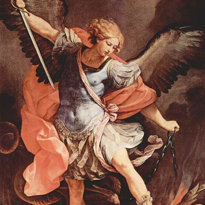 St. Michael the Archangel, Defend us in the Battle